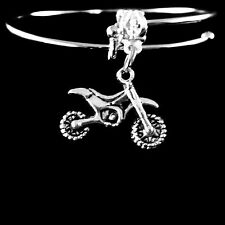 Dirt bike Bracelet  Motorcross bike  motorcycle  best jewelry gift