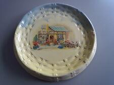 "Vintage 1900-44:   L Sons LTD  Hanley Eng England  Pie Plate 10"" ½ The Posy Shop"