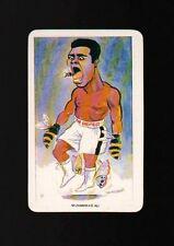 MUHAMMAD ALI Boxing Rare Vintage 1979 VENORLANDUS British Cigarette Tobacco Card