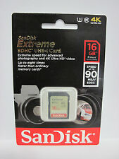 Sandisk 16G extreme WG-2 Ultra HD SD card for Pentax Optio RZ 18 WG-1 GPS VS20