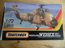 MATCHBOX KIT PK133 1/72   WESTLAND WESSEX HAS31/HU5  (RN/BA HELICOPTER )