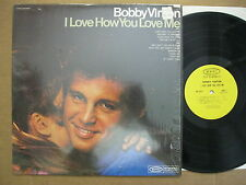 Bobby Vinton LP 1968 I love how you love me VG ++ Stereo