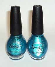 2 NICOLE By O.P.I. Nail Polish Nail Color Nail Enamel DIVA INTO THE POOL