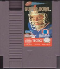 TECMO SUPER BOWL SUPERBOWL FOOTBALL ORIGINAL NINTENDO GAME NES HQ