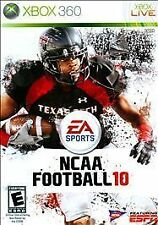 NCAA Football 10 (Microsoft Xbox 360, 2009, NTSC-U/C (US/Can), Brand New Sealed)