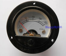 1pc 52mm SO52 DC200MA  Round Moving Coil Panel Meter Vintage Tube Amplifier