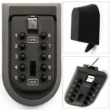 COMBINATION KEY SAFE BOX CASE SECURITY LOCK HOLDER WALL MOUNTED CAR HOME OUTSIDE