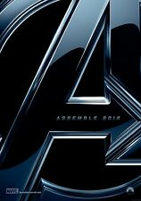 The Avengers Movie Poster (24x36) -Marvel Assemble Iron Man Captain America Hulk