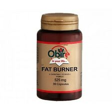 FAT BURNER 525 MG 90 CAPS OBIRE Carnitina Te rojo Pomelo