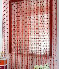 Elegance overseas red heart door curtain (EK03)