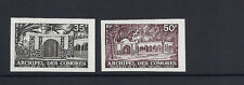 COMORO ISLANDS 1974 CHEIKH (Sc 116-117) IMPERF trial color PROOFS VF MNH