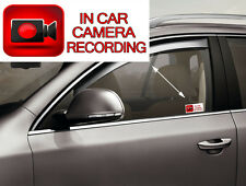 IN CAR CAMERA RECORDING STICKERS CCTV SIGN VAN DECAL SECURITY WARNING STICKER