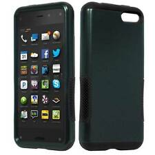 BLACK INFUSE HYBRID HARD PLASTIC TPU GEL PHONE CASE FOR AMAZON FIRE PHONE