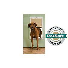 PetSafe Premium Plastic Pet Door White, Extra Large PPA00-10961