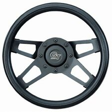 """Grant 414 Challenger Series Steering Wheels 13.5"""" Diameter Black Grip Color"""