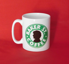 Sherlock Benedict Cumberbatch Starbucks Inspired Coffee Mug 10oz