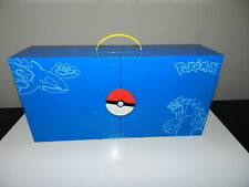 POKEMON BLUE TOMY NINTENDO CARRYING CASE for Figures 2004