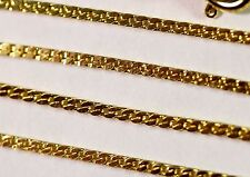 Gold Plated Herringbone Chain 20 Inch Necklace Lot Wholesale 10 Pcs