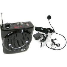 AMPLIFICATORE PORTATILE ARCHETTO PER GUIDA ANIMATORE USB RADIO FM SPETTACOLI