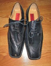 MEN'S EXPRESSIONS BY RC BLACK DRESS SHOES SIZE 10.5*