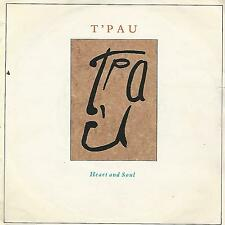 """T'PAU - HEART AND SOUL / ON THE WING- 7"""" MADE IN UK SIREN 1987"""