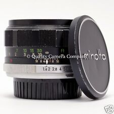 Minolta 58mm f/1.4 MC ROKKOR-PF - LATE VERSION MC ULTRA-FAST STANDARD LENS - EX