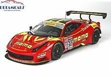 BBR Ferrari 458 GT3 1/18 P18118V - Deluxe with display case limited 20 pcs