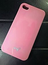 Custodia SILICONE cover JELLY TPU per iPHONE 4S 4 APPLE  ROSA PINK CASE IPHONE 4