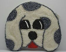 Vintage handmade brand new coin purse wallet pouch bag (Dog 4 x 4) YY131