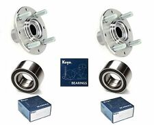 93-97 HONDA Civic Del Sol Front Wheel Hub & (OEM) KOYO Bearing Kit (SI, S)-PAIR