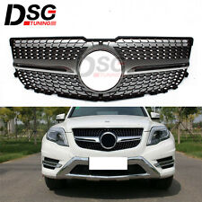 For Mercedes Benz GLK X204 2013 2014 Front Grille Mesh Grill Vent Diamond Grills