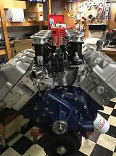 CUSTOM BUILT BOSS 429 FORD ENGINE 505CI KAASE HEADS STACK EFI