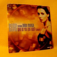 Cardsleeve Single CD Riva Ft Dannii Minogue Who Do You Love Now? 2TR 2001 Trance