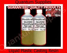 Mouldcraft sg2000 120gm FAST CAST POLIURETANO LIQUIDO PLASTICA CASTING RESIN KIT