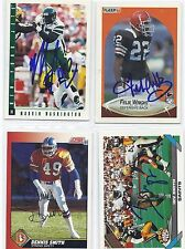 Irv Smith Signed / Autographed Football Card New Orleans Saints 1993 Topps