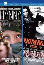 Hanna/Haywire (DVD, 2013, 2-Disc Set, Saoirse Ronan, Gina Carano)