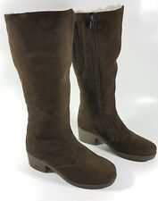 Richard Draper brown leather fully sheepskin lined boots uk 4 eu 37