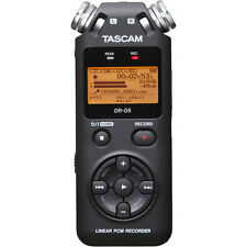 TASCAM DR-05 LINEAR PCM DIGITAL RECORDER WITH 4 GB MICRO SD