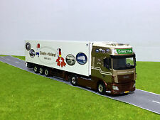 "WSI TRUCK MODELS,DAF XF SSC 4x2 REEFER TRAILER CARRIER""DIMETRA""1:50"