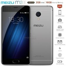 """Unlocked MEIZU M3S Y685H Grey 5"""" IPS LCD Dual SIM 4G LTE Android Mobile Phone"""