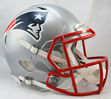 NEW ENGLAND PATRIOTS NFL Riddell SPEED Full Size AUTHENTIC Football Helmet