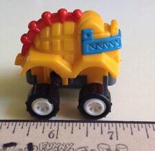 DINO CRAWLER 1994 BURGER KING Kids Club Toy Wind Up. Yellow Dinosaur Cake Topper