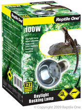 Reptile One R1-46562 Heat Lamp Day Light 100W E27 Screw Fitting for Reptiles
