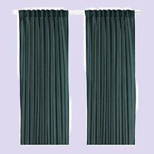"IKEA Vivan Curtain Green-Blue Drape""Sheer""Teal(MultShpDscnt)Sealed 2 Panel"