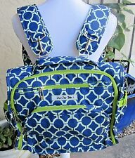 Ju-Ju-Be B.F.F. Versatile Messenger Backpack Diaper Bag Royal Envy