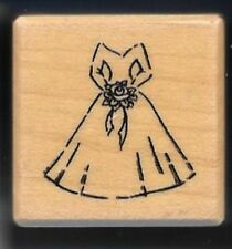 Personalized wedding rubber stamp ebay for Wedding dress rubber stamp