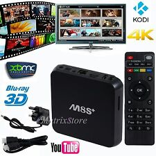 M8S+S812 Android 5.1 Quad Core KODI TV Box 3D XBMC Fully Loaded 4K Media Player