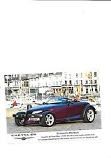 UK CHRYSLER PLYMOUTH PROWLER PRESS PHOTO 'BROCHURE RELATED'