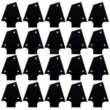 20pcs Black Plastic Electric Guitar Truss Rod Cover For Ibanez Custom