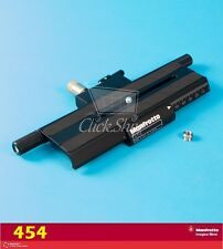 Manfrotto 454 Micrometric Positioning Sliding Plate - Supports 17.7 lbs (8kg)